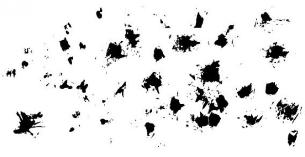 Grunge splatter free vector Kostenlosen Vektoren