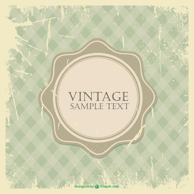 Grunge vintage rahmen download der kostenlosen vektor - Vintage bilder kostenlos ...