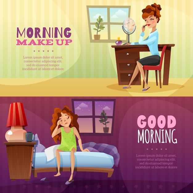 Guten Morgen Horizontale Banner Download Der Kostenlosen