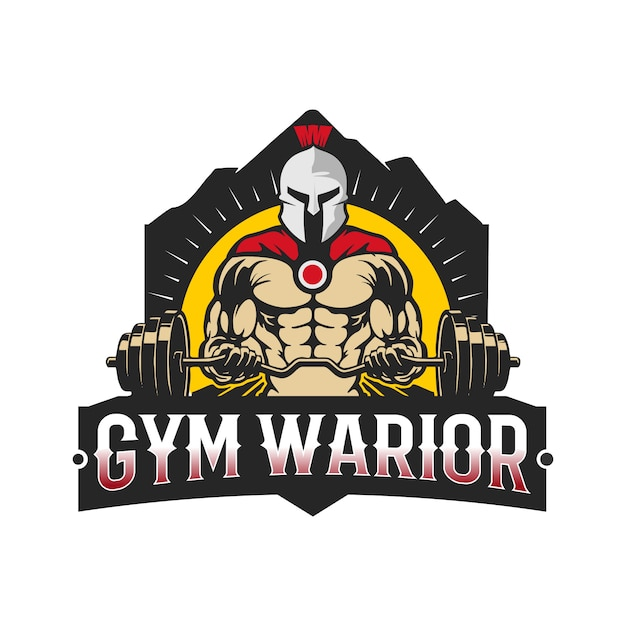 Gym warior Premium Vektoren