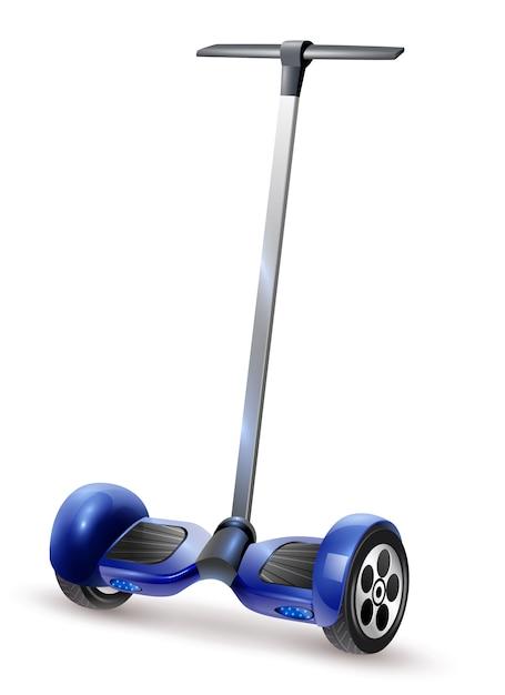 Gyro-roller realistische nahaufnahme bild Kostenlosen Vektoren