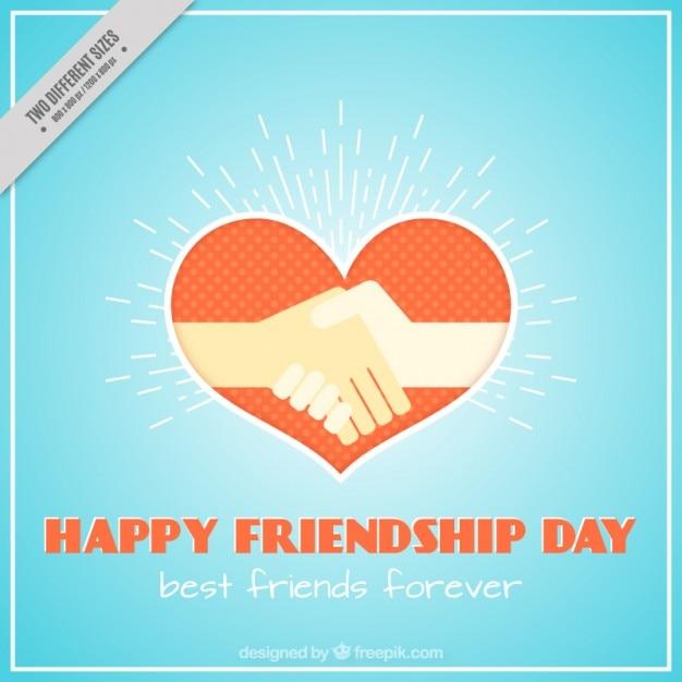 Freundschaft Hände Herz