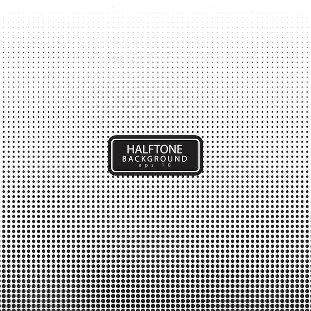 Halbton-Hintergrund mit Hexagon-Form | Download der Premium Vektor