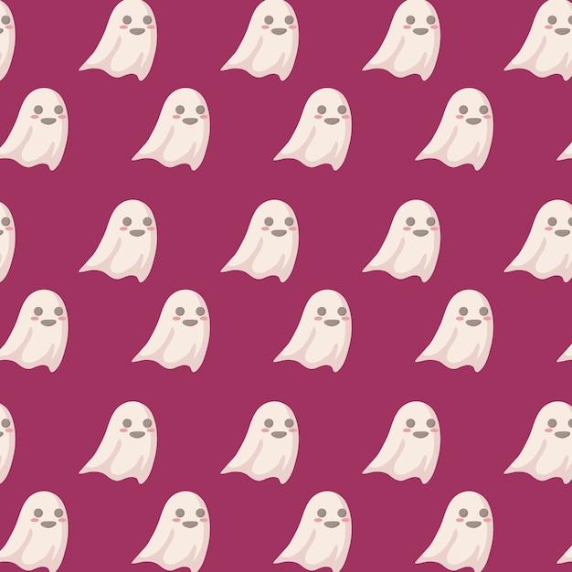 Halloween-feiermuster Kostenlosen Vektoren