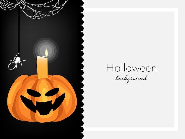 Halloween-hintergrund Premium Vektoren