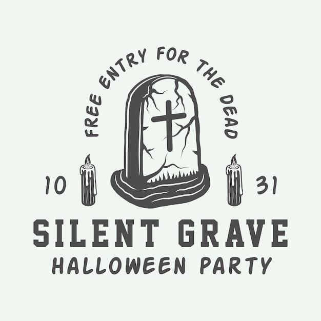 Halloween-parteiplakat Premium Vektoren