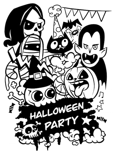 halloweenparty einladung halloweenentwurfsvorlage