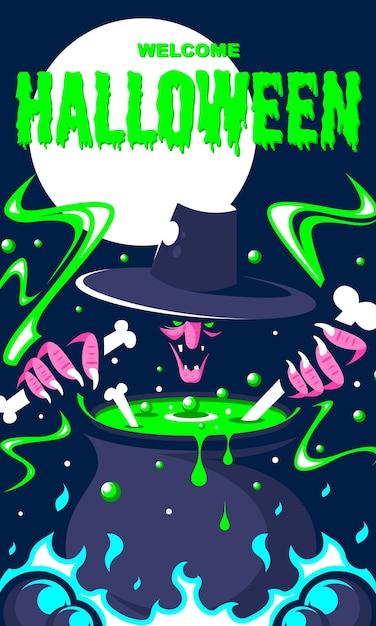 Halloween Premium Vektoren