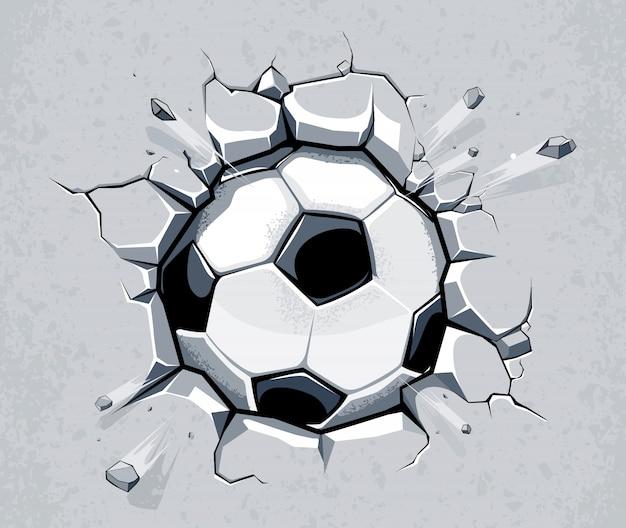 Hand Gezeichnet Fussball Hintergrund Download Der