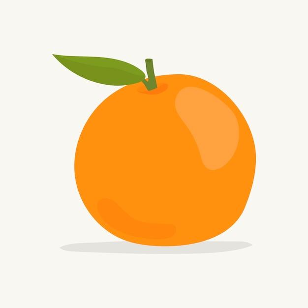 Hand gezeichnete bunte orange illustration Kostenlosen Vektoren