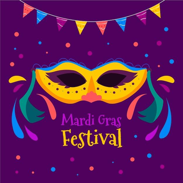 Hand gezeichneter karneval karneval Kostenlosen Vektoren