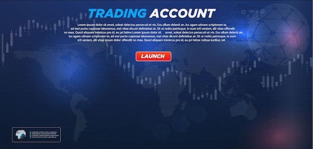 Handelsmarkt Premium Vektoren