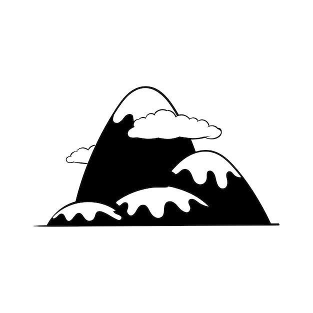 Handzeichnungs-illustrationssatz fernweh-ikonen Kostenlosen Vektoren