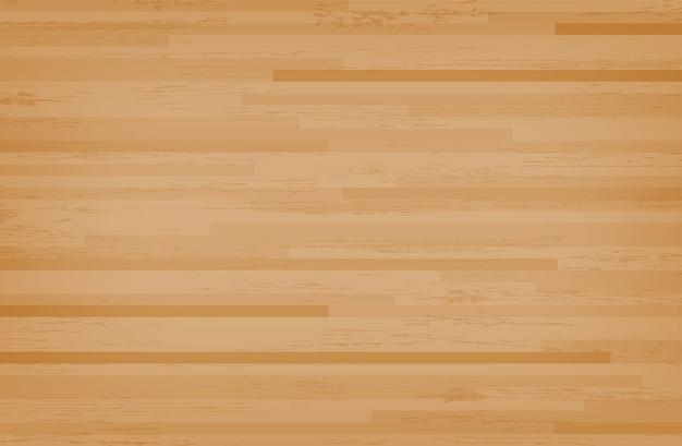 Hartholz-ahorn-basketballplatzboden. Premium Vektoren
