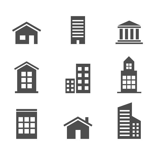 Haus zu hause abstrakte business infografische vorlage Kostenlosen Vektoren