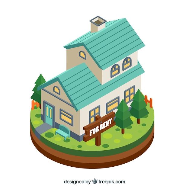 Haus Zur Miete In Flacher Bauweise
