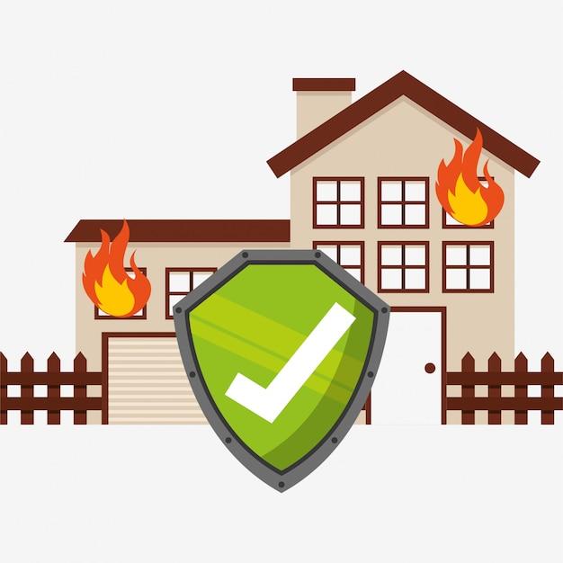 Hausversicherung Kostenlosen Vektoren