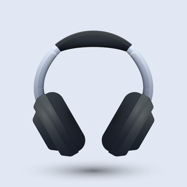 Headset-illustration Premium Vektoren