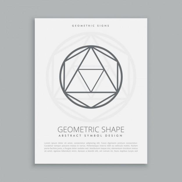 Heilige geometrische figur Kostenlosen Vektoren