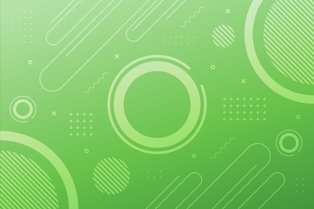 Hellgrüne geometrische oberfläche Kostenlosen Vektoren