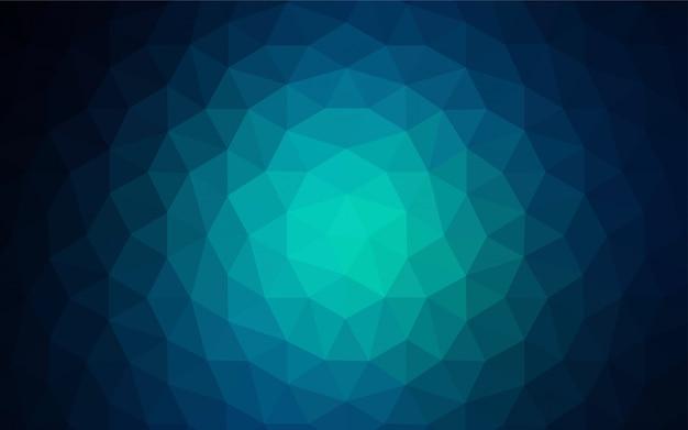 Hellgrüner vektor, der dreieckige abdeckung glänzt. Premium Vektoren