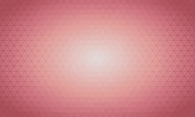 Hellrosa vektor dreieck polygon hintergrund. Premium Vektoren