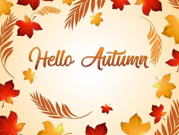 Herbst danksagung hintergrundvorlage Kostenlosen Vektoren