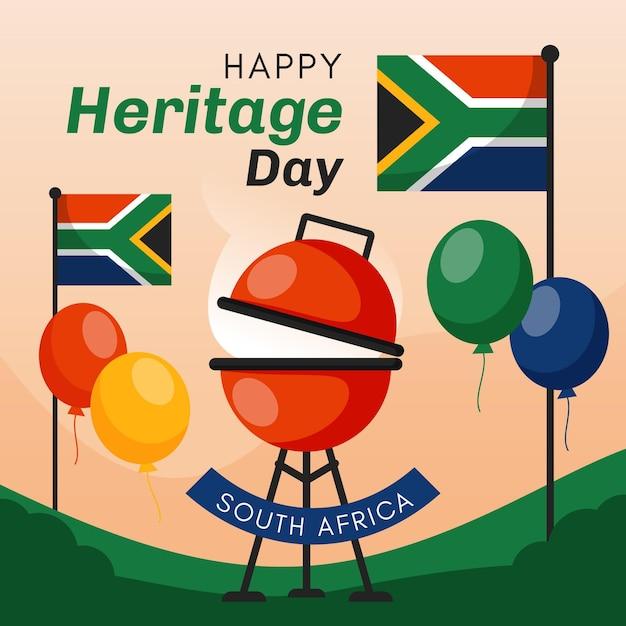 Heritage day event design Kostenlosen Vektoren