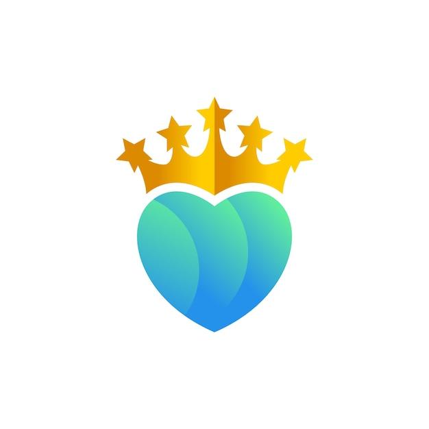 Herz König Vorlage | Download der Premium Vektor
