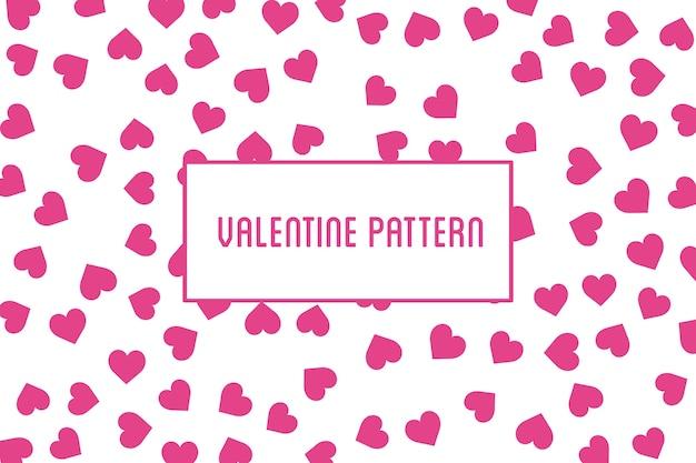 Herz nahtlose Muster. Roter Hintergrund St. Valentine von ...