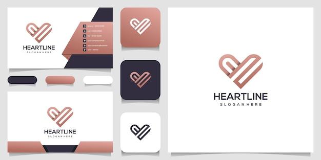 Herz symbol symbol vorlage elemente. logo des gesundheitslogos. dating-logo-symbol Premium Vektoren
