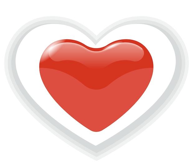 Herz-symbol vektor Premium Vektoren