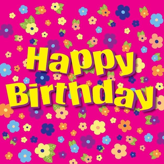 Herzlichen Glückwunsch Zum Geburtstag Blumen Download Der