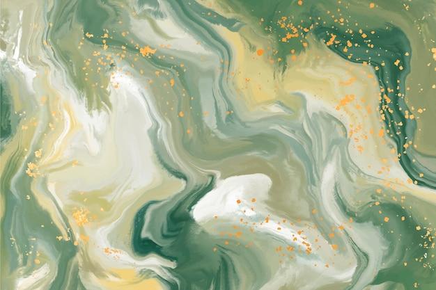 Hintergrund aus flüssigem marmor Premium Vektoren