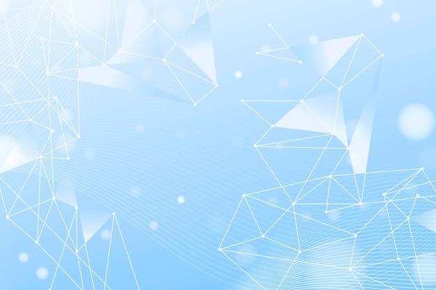 Hintergrund der gradienten-netzwerkverbindung Kostenlosen Vektoren