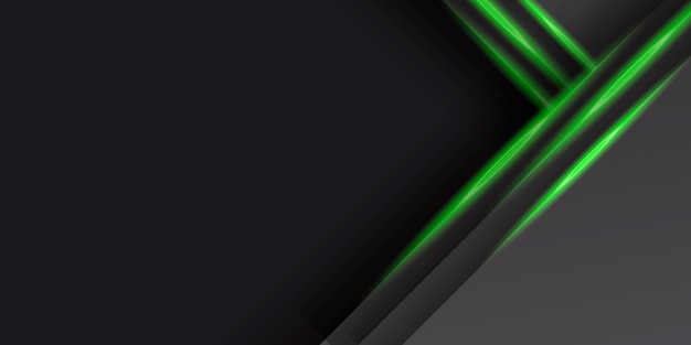 Hintergrund des abstrakten technologiekonzepts. überlappende linien. Premium Vektoren