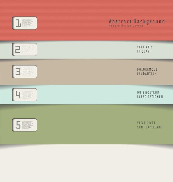 Hintergrund des modernen designs Premium Vektoren