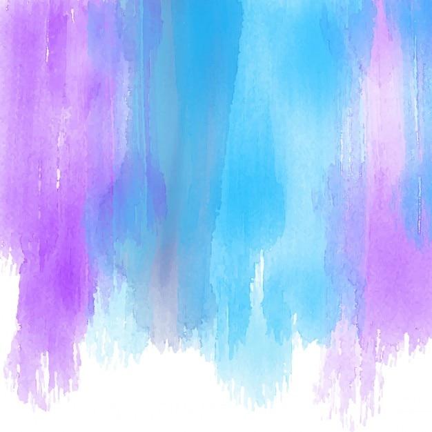 Hintergrund mit aquarell brushstrokes Kostenlosen Vektoren