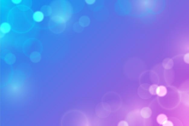 Hintergrund mit farbverlauf mit bokeh-effekt Kostenlosen Vektoren