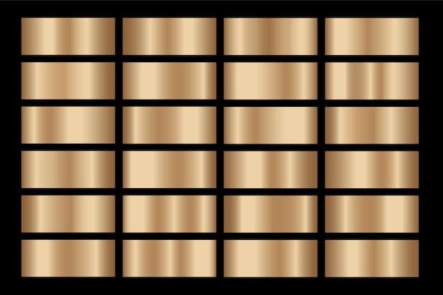 Hintergrund mit goldgradienten Premium Vektoren
