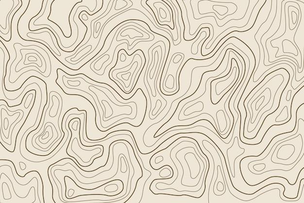 Hintergrund mit topographie Kostenlosen Vektoren