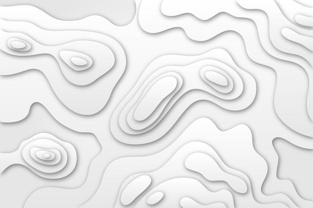 Hintergrundbild mit topografischer karte Premium Vektoren