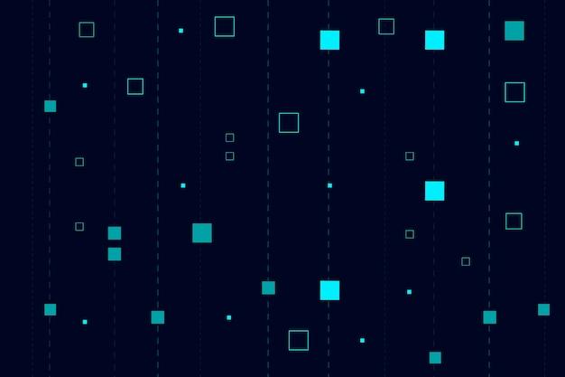 Hintergrundpixel-regenzusammenfassung Kostenlosen Vektoren