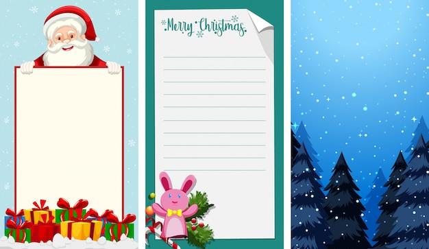 Hintergrundtapeten mit weihnachtsthema Kostenlosen Vektoren