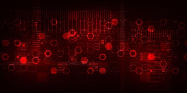 Hintergrundtechnologie der kommunikation. Premium Vektoren