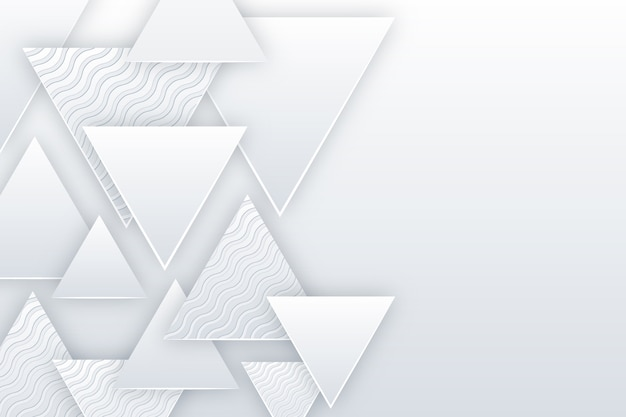 Hintergrundthema des 3d-papierstils Kostenlosen Vektoren