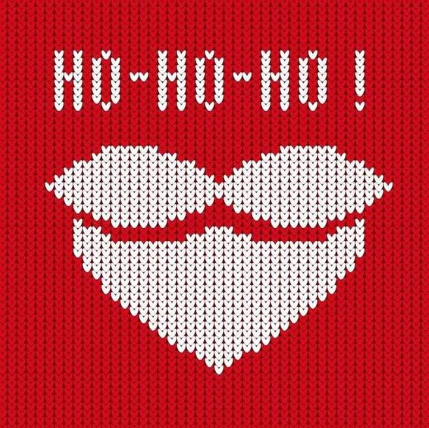 Ho-ho-ho Premium Vektoren