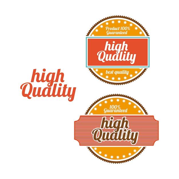 Hochwertige dichtungen Premium Vektoren