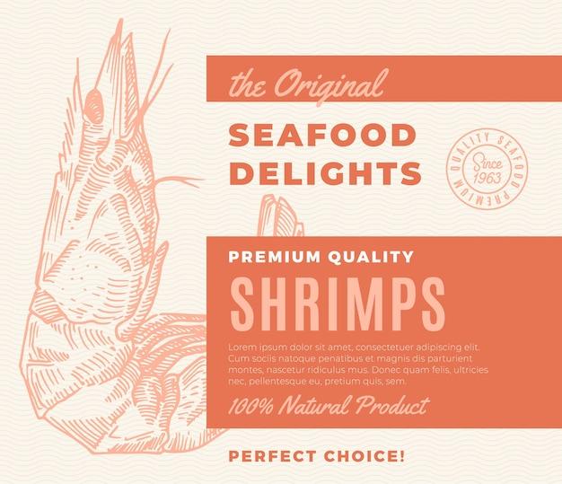 Hochwertige meeresfrüchte-köstlichkeiten Kostenlosen Vektoren