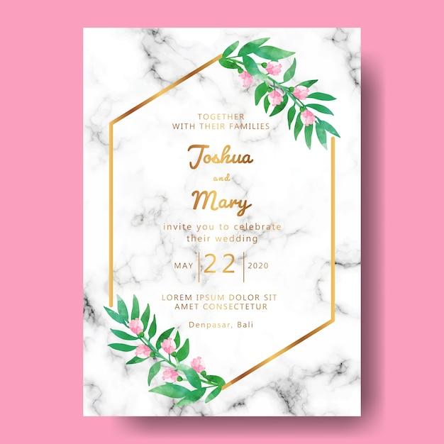 Hochzeitseinladung mit mandala ornament Premium Vektoren